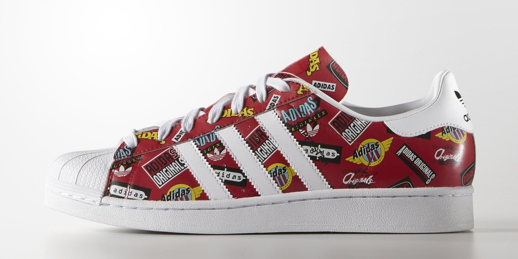 adidas-superstar-nigo-allover-print-red-