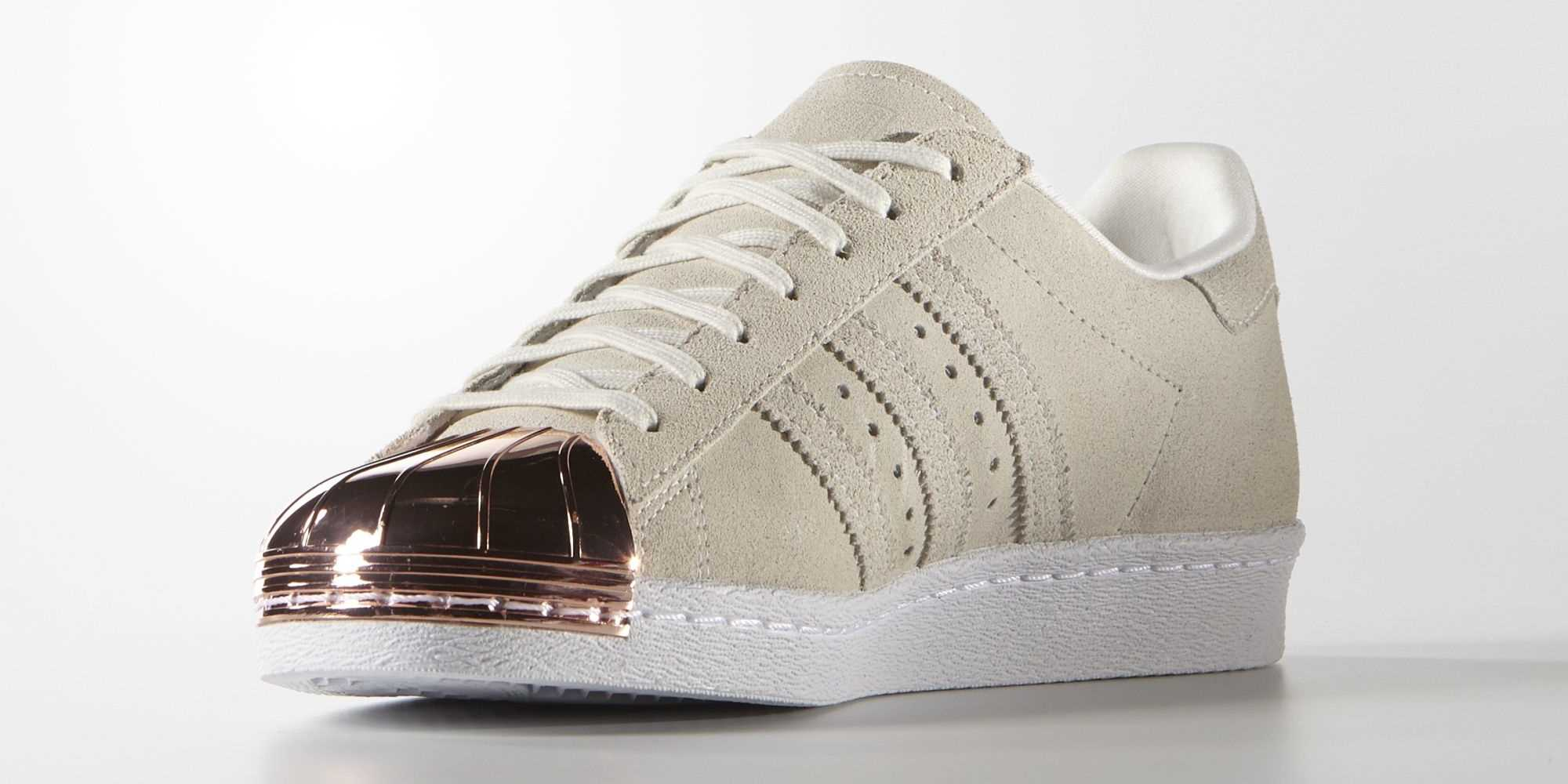adidas superstar 80s metal toe gold