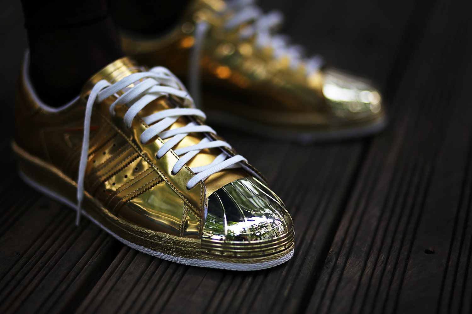 Adidas Superstar 80s Metallic Pack Gold | /// Superstar.shoes