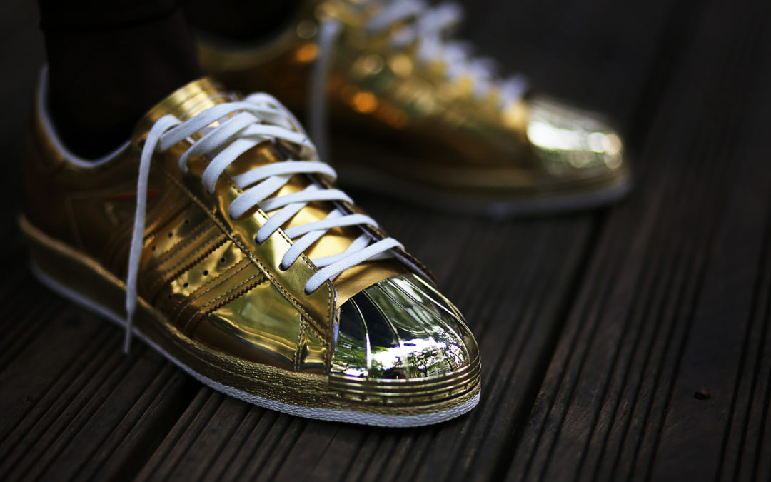 Adidas Superstar 80s Metallic Pack Gold