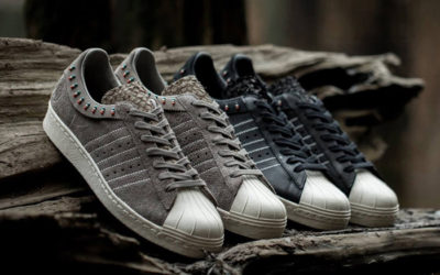 Adidas Superstar 80v Consortium x Invincible