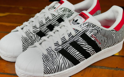 "Adidas Superstar FP ""Thumbprint"""