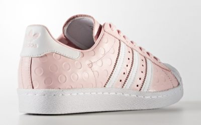 Adidas Superstar 80s Debossed Polka-Dot