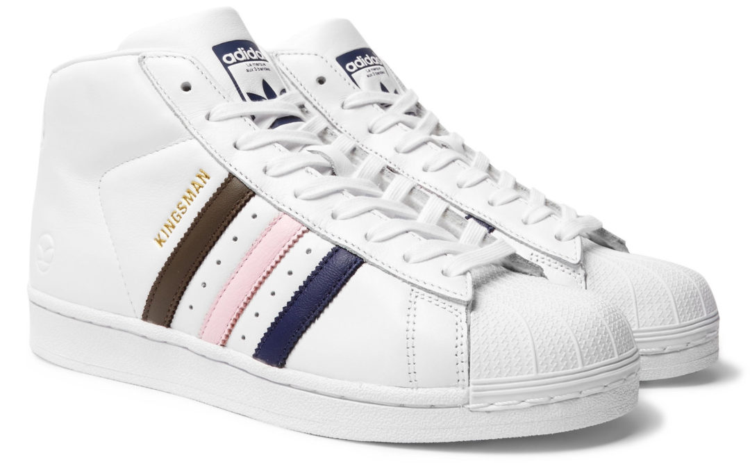 "Adidas Superstar x Mr Porter ""Kingsman"" 1/500"