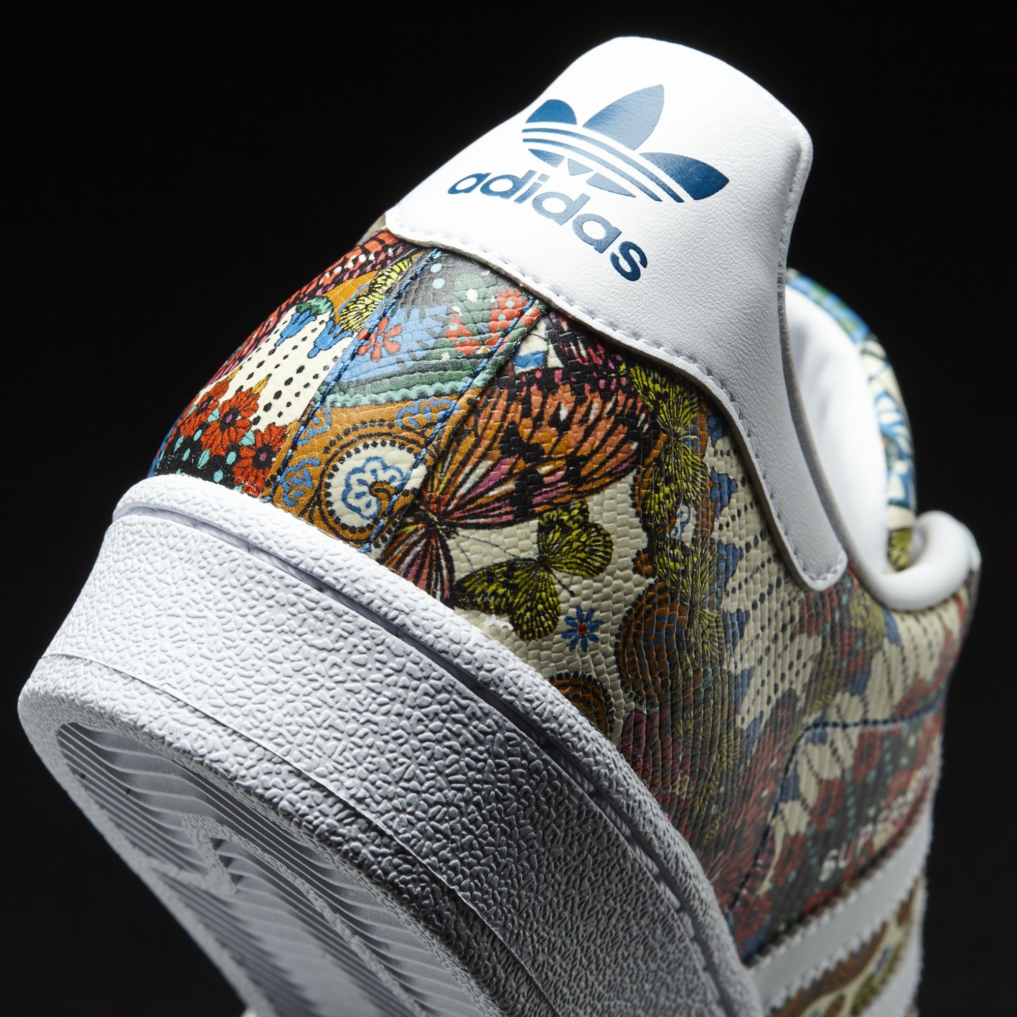 "the latest b6fd3 a1be0 Adidas Superstar x The Farm Company ""Tropical Mosaic ..."