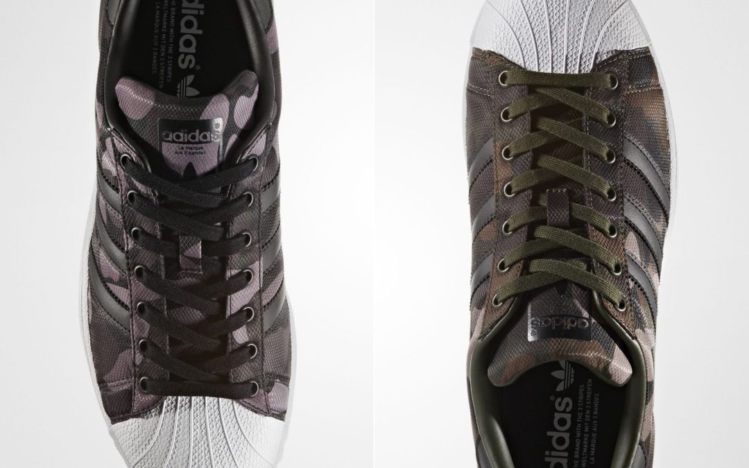 Adidas Superstar Camouflage Printed Ripstop Nylon
