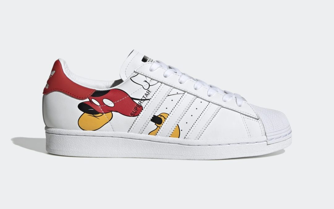 "Disney x Adidas Superstar ""Mickey Mouse"""
